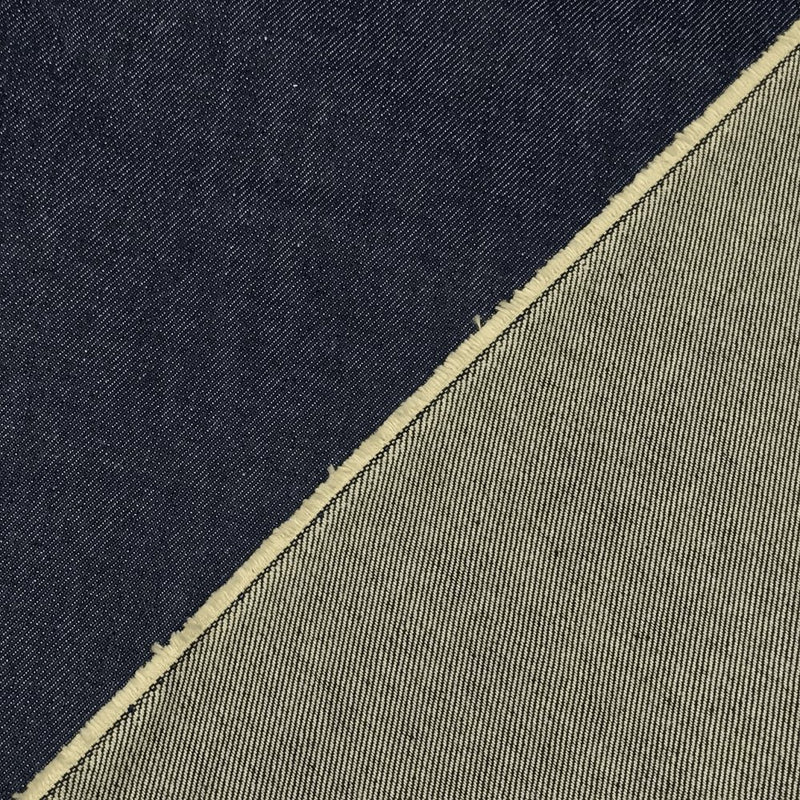 "68"" Blue Denim Fabric, 27oz - ineedfabric.com"