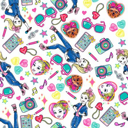 JoJo Tech Toss Fabric