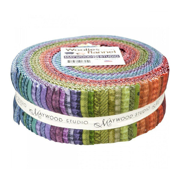 Woolies Flannel Collection Fabric Roll - 40 Strips