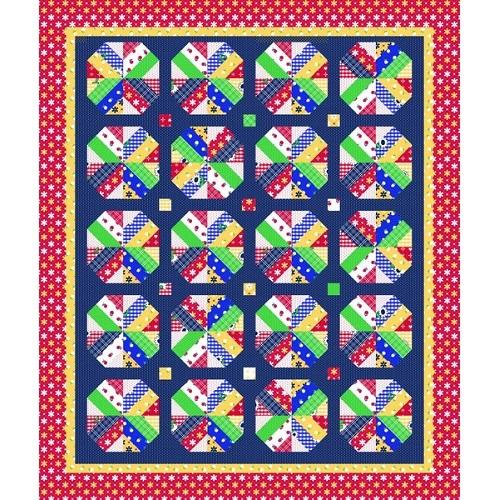 Amy Smart A Bushel and a Peck Quilt Pattern - ineedfabric.com