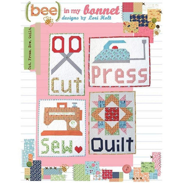 Bee In My Bonnet Cut Press Sew Quilt Pattern - ineedfabric.com