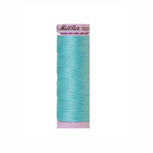 Blue Curacao Silk-Finish 50wt Solid Cotton Thread - 164yd - ineedfabric.com