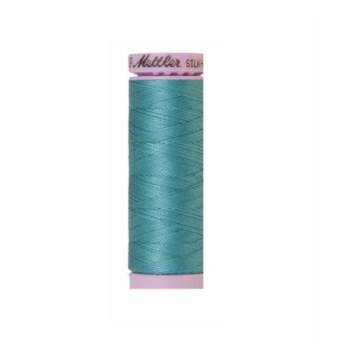 Blue Green Opal Silk-Finish 50wt Solid Cotton Thread - 164yd - ineedfabric.com