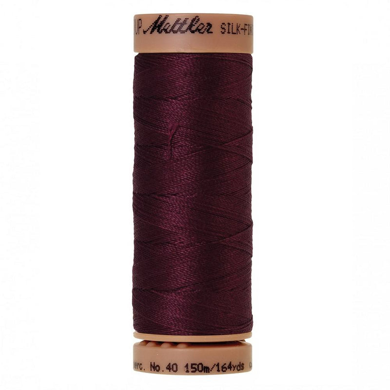 Bordeaux 40wt Solid Cotton Thread 164yd - ineedfabric.com