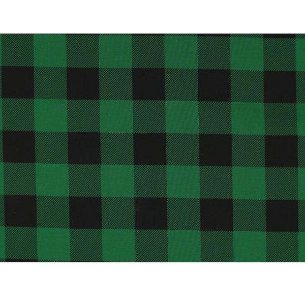Buffalo Plaid Fabric - Green - ineedfabric.com