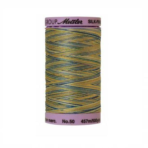 China Blue Silk-Finish 50wt Variegated Cotton Thread - 500yds - ineedfabric.com