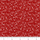 Classic Collection, Mini Flowers Fabric, Red - ineedfabric.com