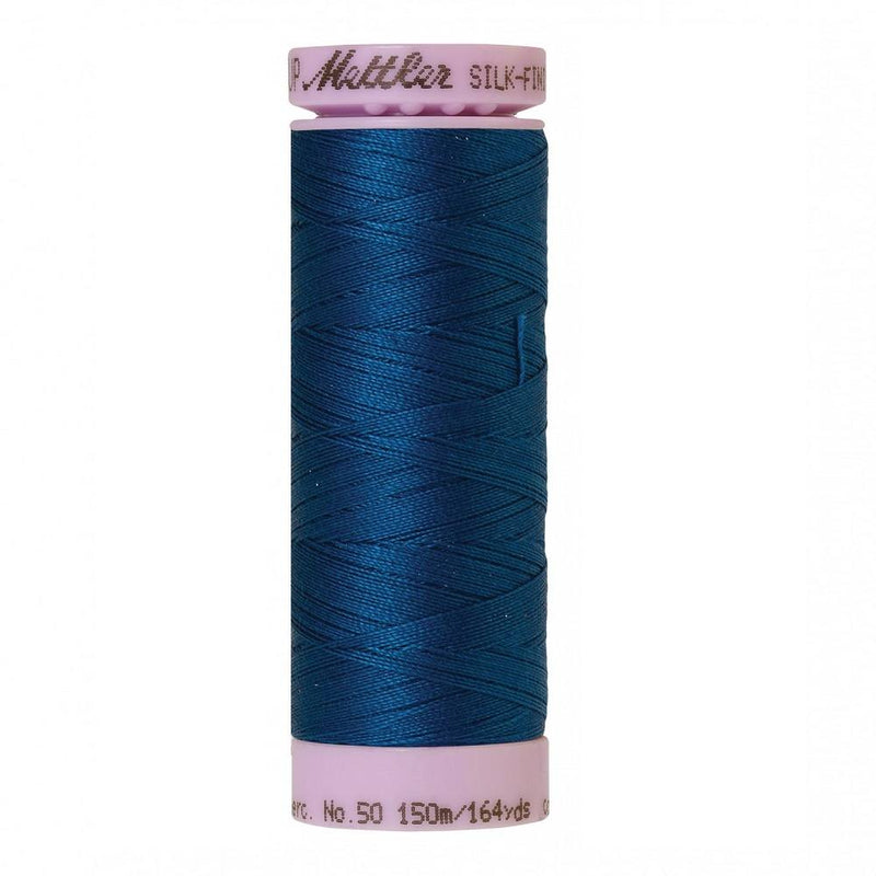 Colonial Blue Silk-Finish 50wt Solid Cotton Thread - 164yd - ineedfabric.com