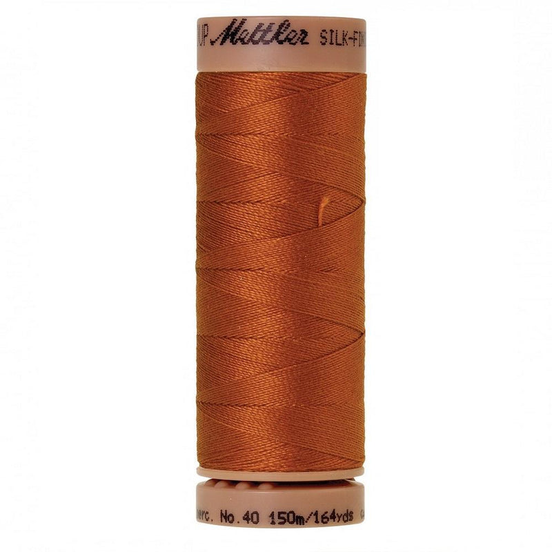 Copper 40wt Solid Cotton Thread 164yd - ineedfabric.com