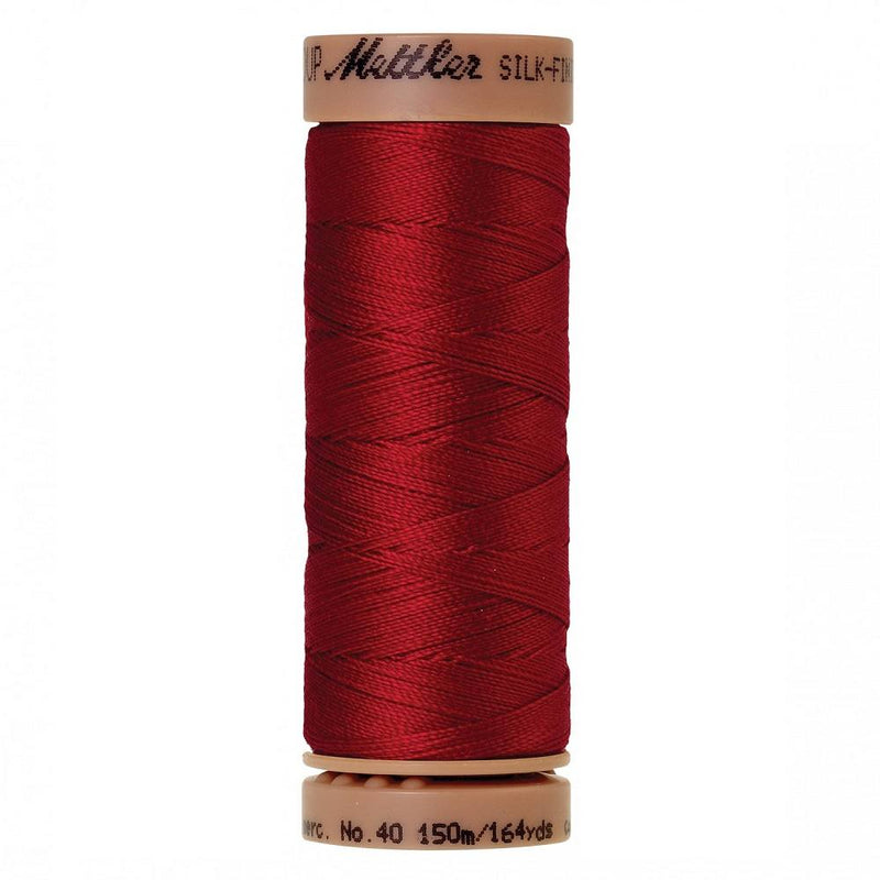 Country Red 40wt Solid Cotton Thread 164yd - ineedfabric.com