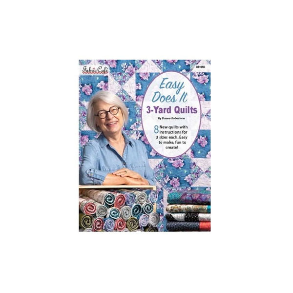 Easy Does It 3 Yard Quilts Pattern Book - ineedfabric.com