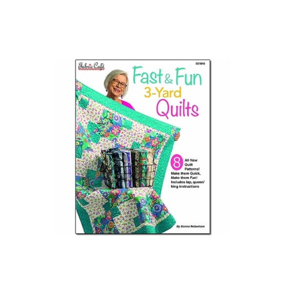 Fast & Fun 3 Yard Quilts Pattern Book - ineedfabric.com