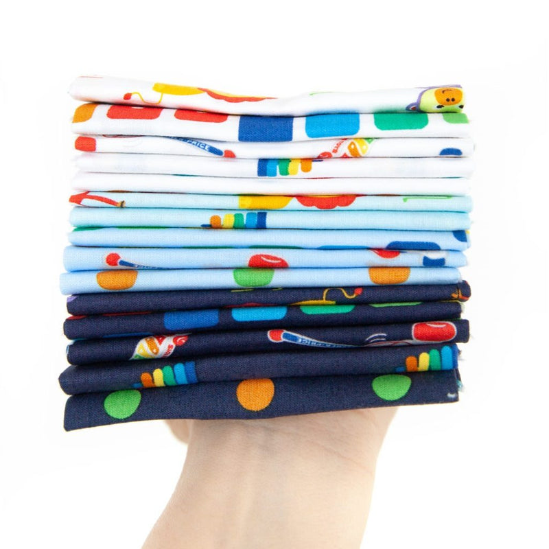 Fisher-Price Fat Quarter Bundle - ineedfabric.com