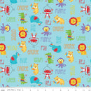 Fisher-Price Main Fabric - Aqua - ineedfabric.com
