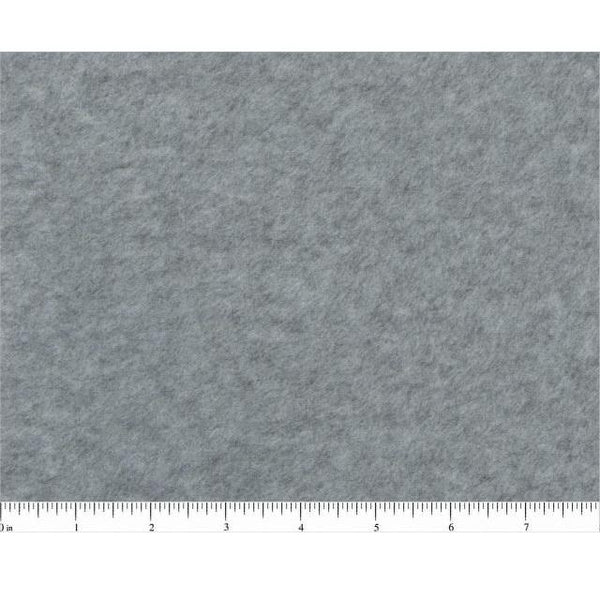 Fleece Fabric 60in - Heather Gray - ineedfabric.com