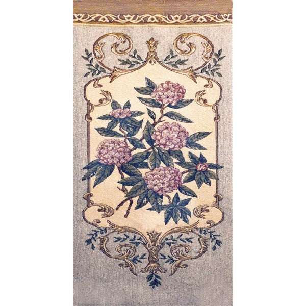 Floral Tapestry Fabric Panel - ineedfabric.com