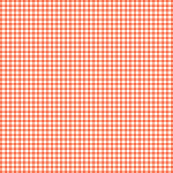 Gingham Check Fabric - Light Coral - ineedfabric.com
