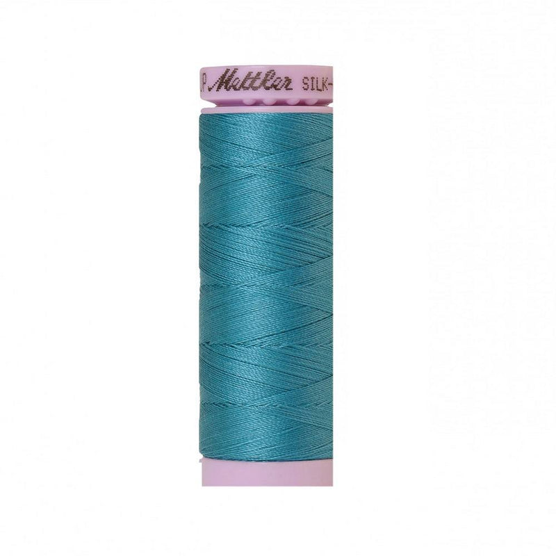 Glacier Blue Silk-Finish 50wt Solid Cotton Thread - 164yd - ineedfabric.com
