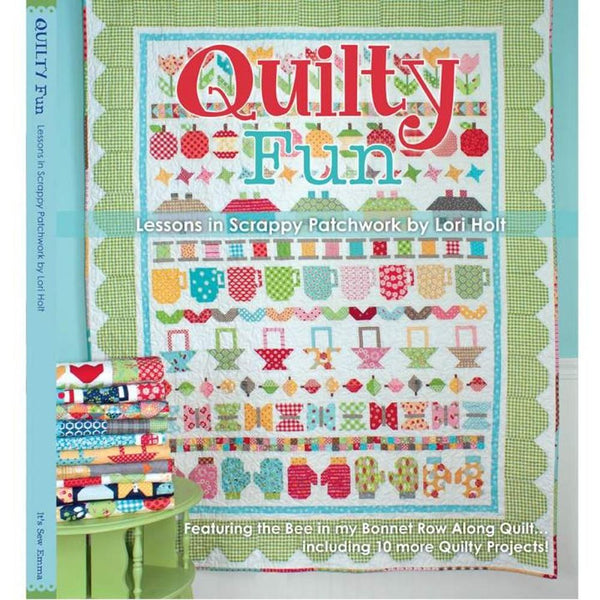 It's Sew Emma Quilty Fun Book - ineedfabric.com