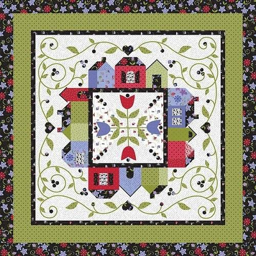 Jillily Studio Around the Town Quilt Pattern - ineedfabric.com