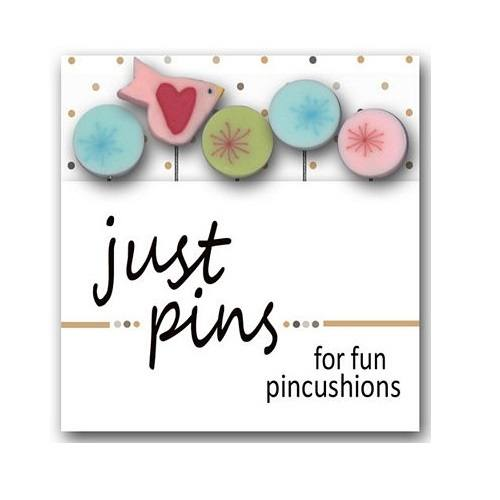 Just Pins, Touch of Frost Pins - 5ct - ineedfabric.com