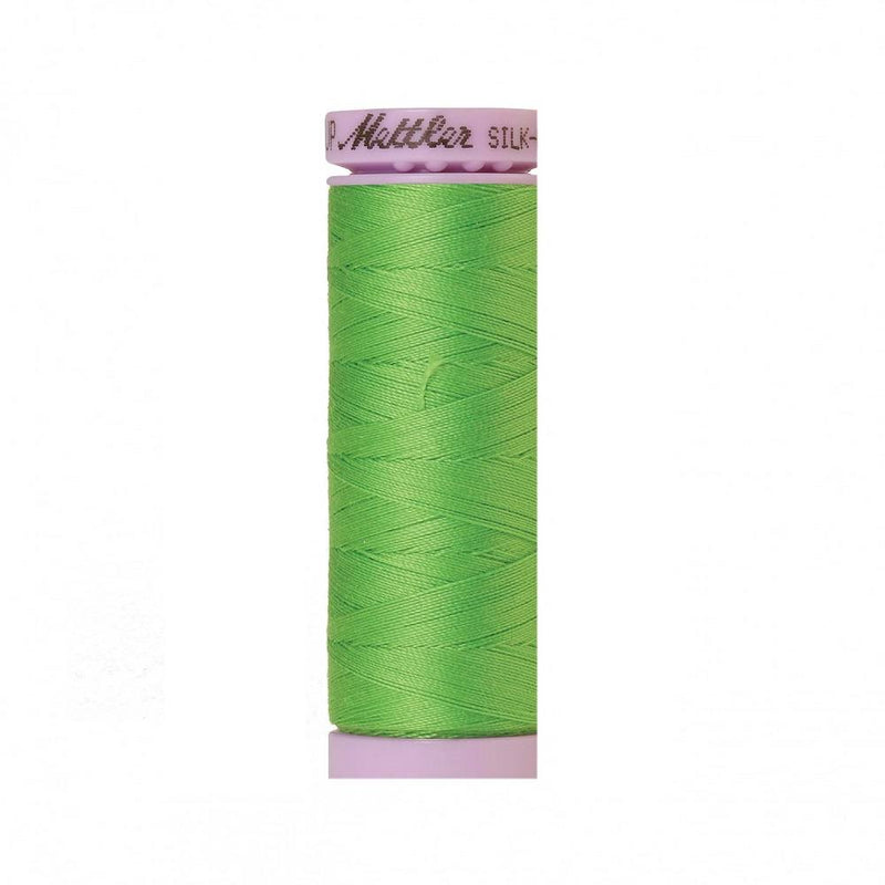 Light Kelly Green Silk-Finish 50wt Solid Cotton Thread - 164yd - ineedfabric.com
