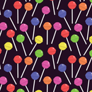 Lollipop Fabric - Purple - ineedfabric.com