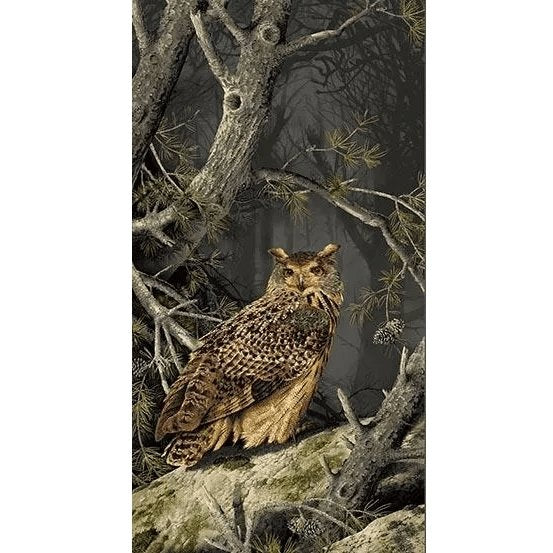 "Majestic Woods Fabric Panel - 24"" - ineedfabric.com"