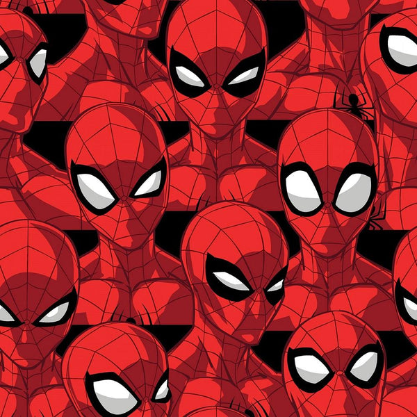 Marvel, Spiderman Spider Sense Fleece Fabric - ineedfabric.com