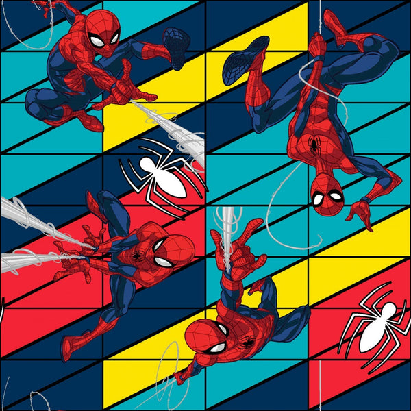 Marvel Spiderman Swing Fabric - ineedfabric.com
