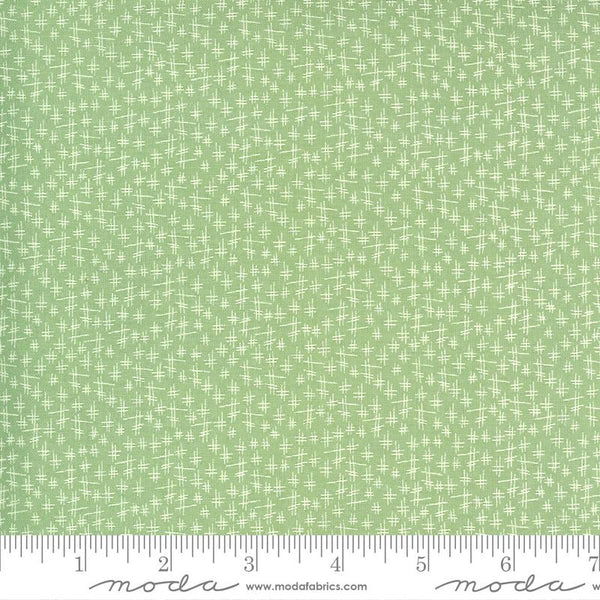 Moda, Chicken Scratch Fabric - Meadow - ineedfabric.com