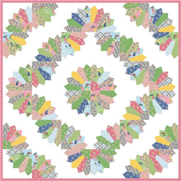 Nancy Zieman Dresden Fan Quilt Pattern - ineedfabric.com