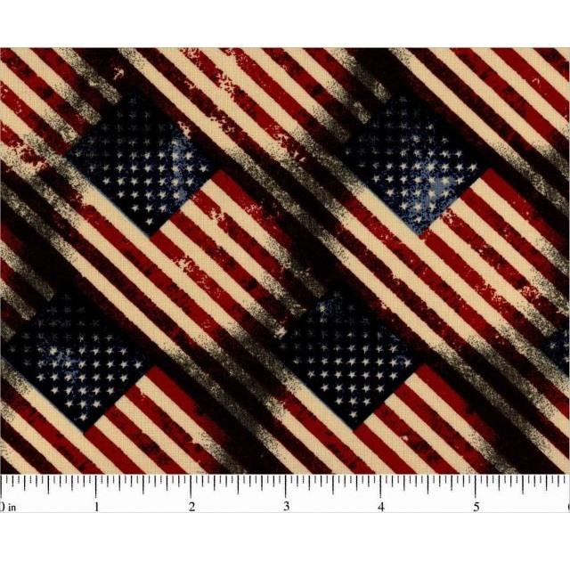 Patriotic Prints, Old Glory Fabric - ineedfabric.com