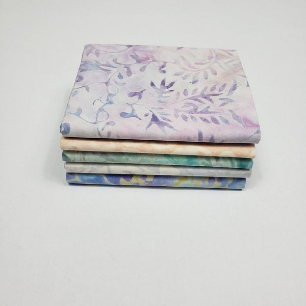Premium Komo Batiks Fat Quarter Fabric Bundle - 5pk - ineedfabric.com