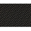 Remember When Little Floral Fabric - Black/White - ineedfabric.com