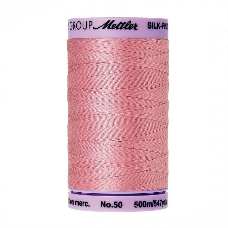 Rose Quartz Silk-Finish 50wt Solid Cotton Thread - 547yds - ineedfabric.com