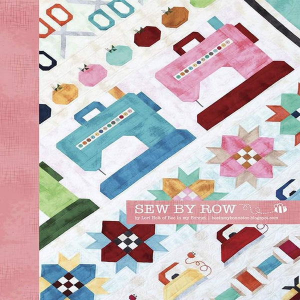 Sew By Row Quilt Pattern - ineedfabric.com