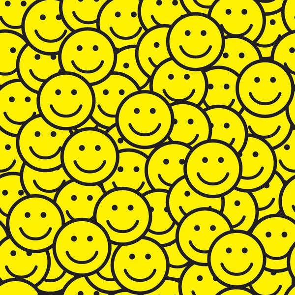 Smiley Face Fabric - ineedfabric.com