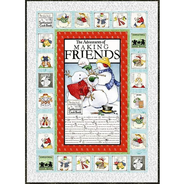 Snow Sweet Advent Quilt Boxed Kit - ineedfabric.com