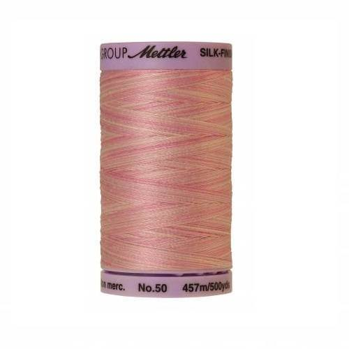 So Soft Pink Silk-Finish 50wt Variegated Cotton Thread - 500yds - ineedfabric.com