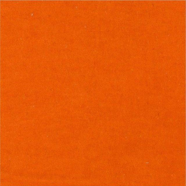 Solid Flannel Fabric - Orange - ineedfabric.com