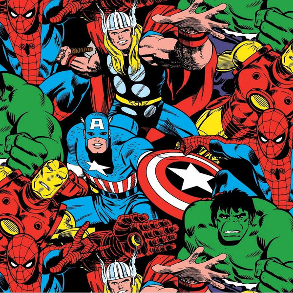 Springs Creative, Marvel Comic Fabric - ineedfabric.com