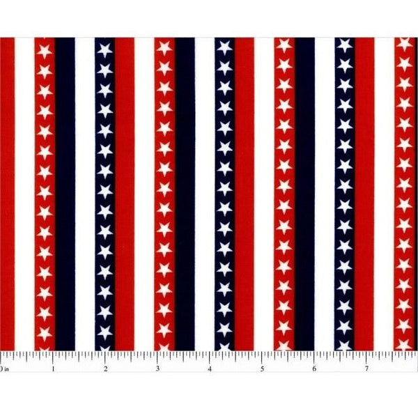 Stars and Stripes Fabric - ineedfabric.com