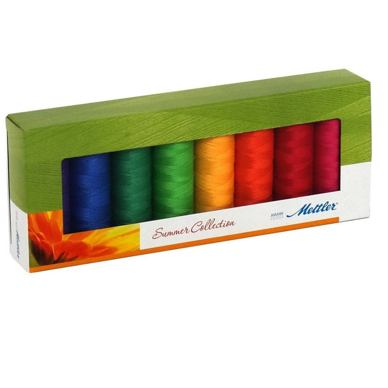 Summer Silk Finish Cotton Thread Kit - ineedfabric.com