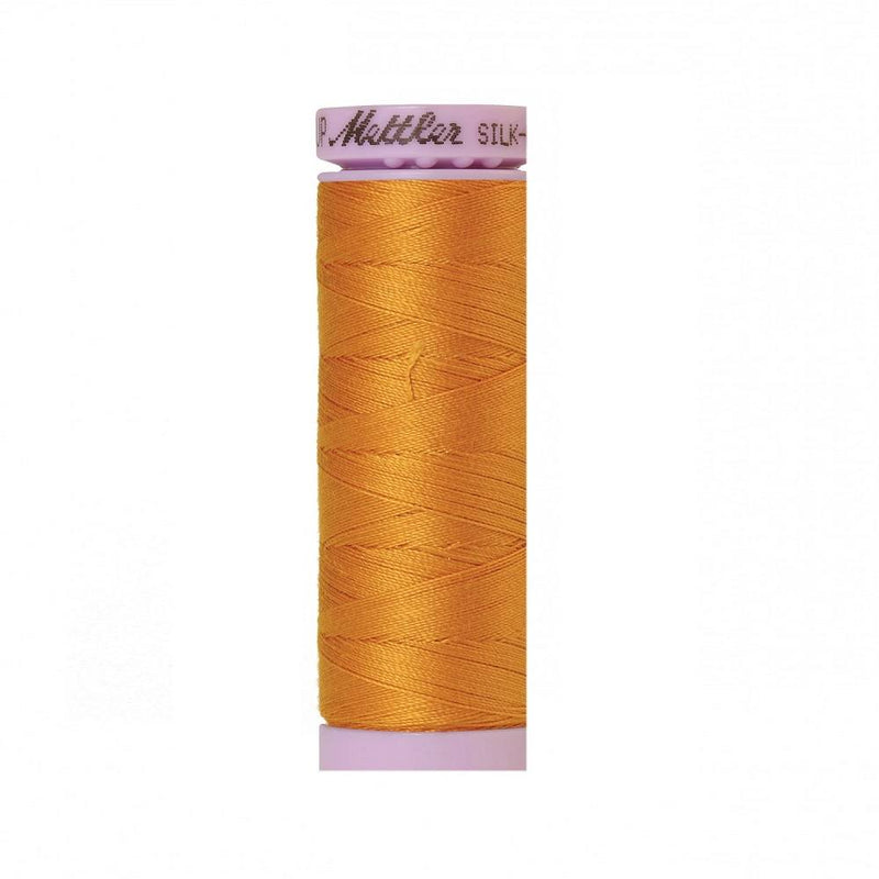 Sunflower Silk-Finish 50wt Solid Cotton Thread - 164yd - ineedfabric.com