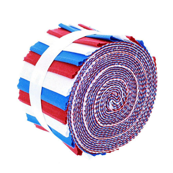 Supreme Solids, Patriotic Fabric Roll, Gallery Rolls - ineedfabric.com
