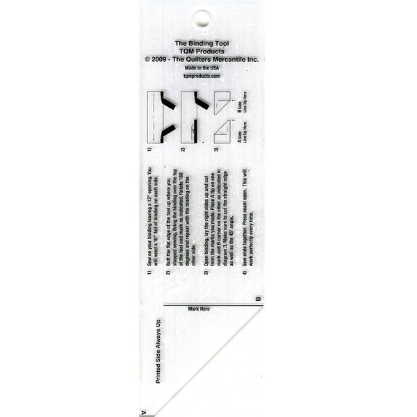 The Binding Tool Template Ruler - ineedfabric.com