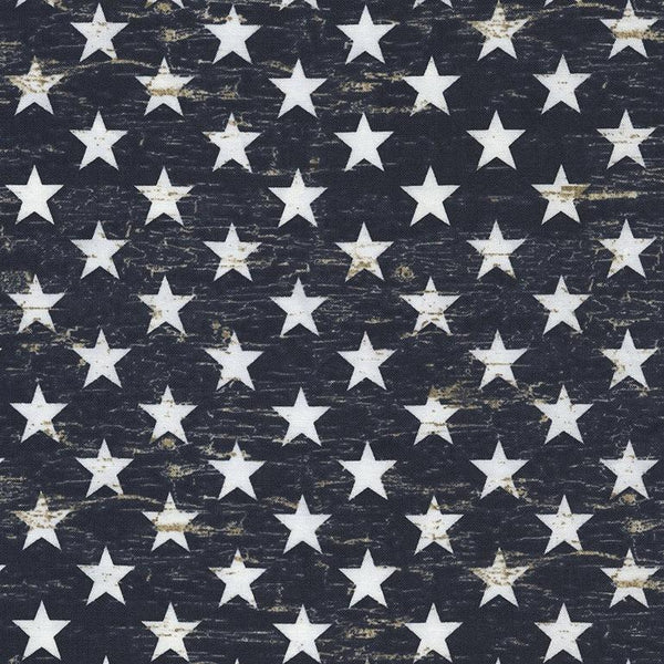Timeless Treasures, Patriotic Stars Fabric - ineedfabric.com