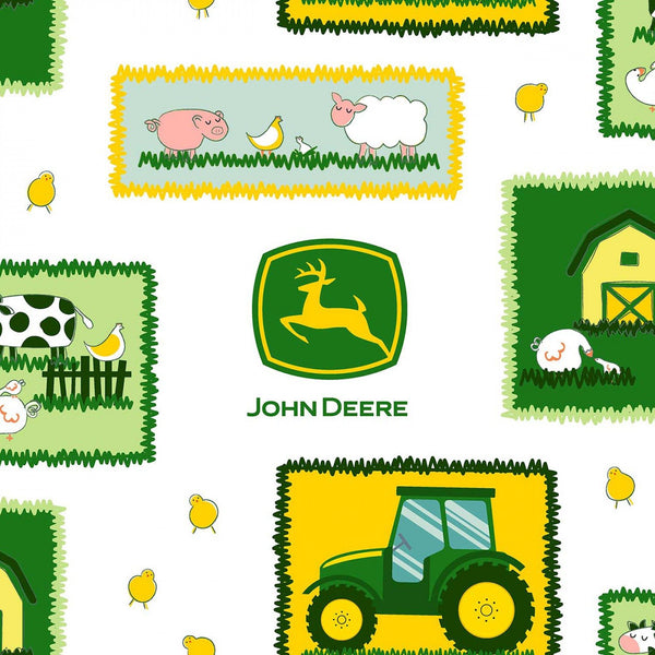 Tractor Patches John Deere Fabric - ineedfabric.com