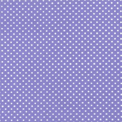 Treasures from the Attic, Small Polka Dot Fabric - Lilac - ineedfabric.com